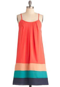 Tropical Sunset Dress, #ModCloth