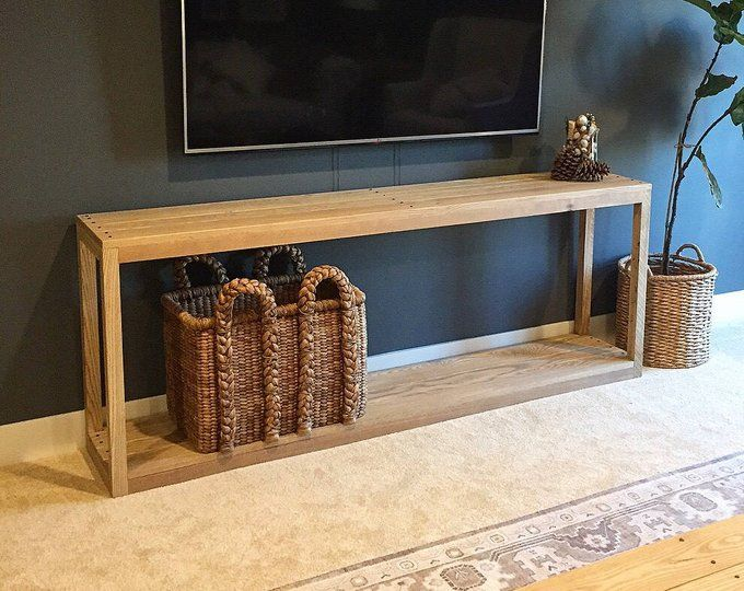 Extra Long Three Shelf French Country Console/Buffet in ...