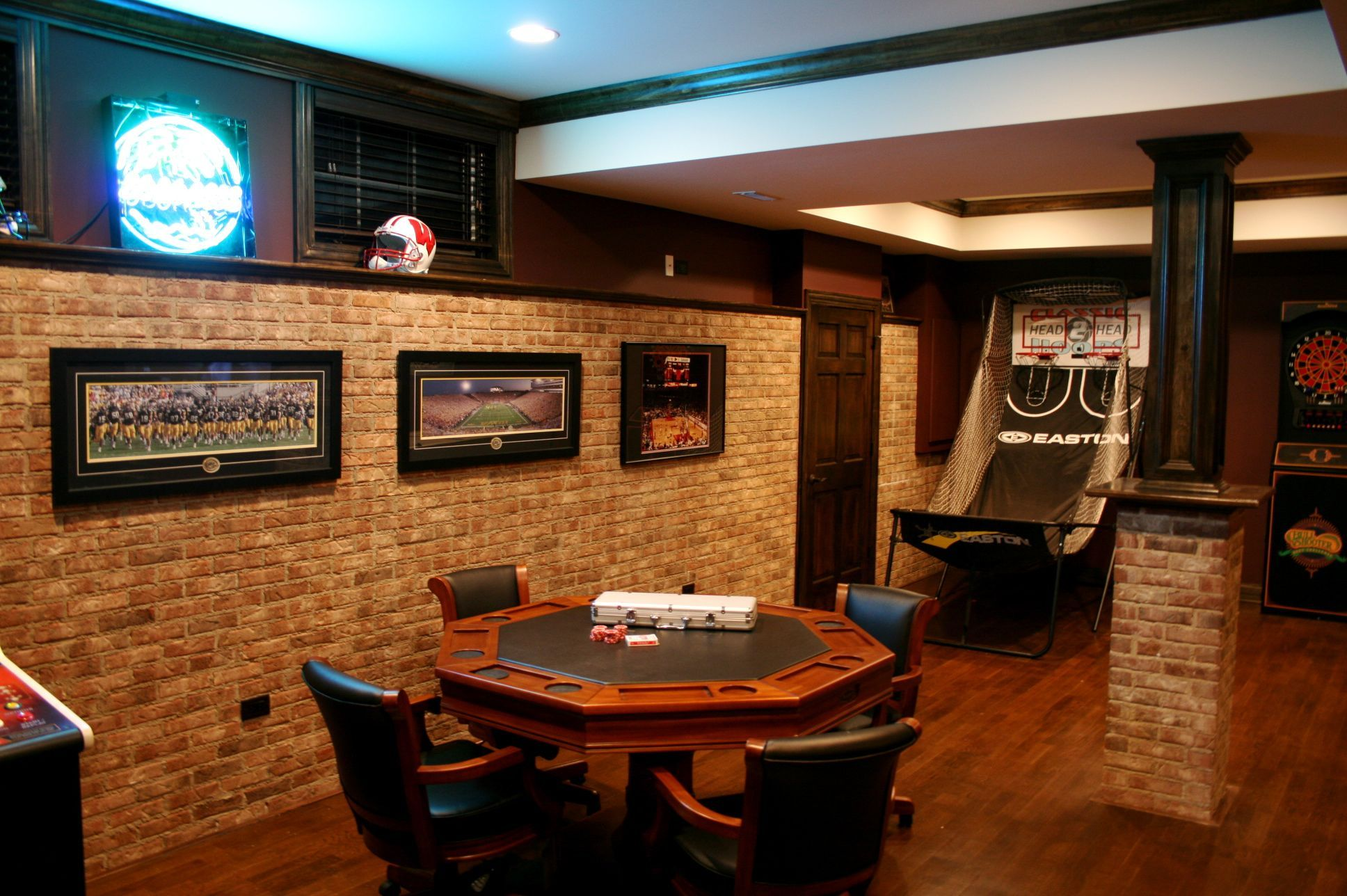 Game Room Garage Game Rooms Small Finished Basements Game Room Basement