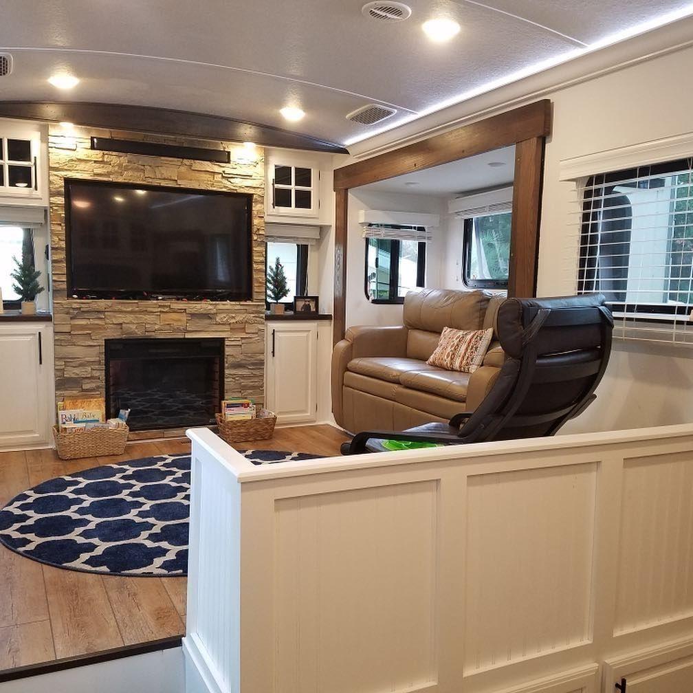 48 Best Living Camper Remodel Interior Design Ideas Abchomy Remodeled Campers Rv Living Living Room Remodel #trailer #living #room #ideas