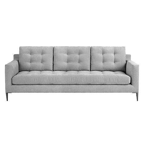 buy john lewis draper 3 seater sofa online at johnlewis com