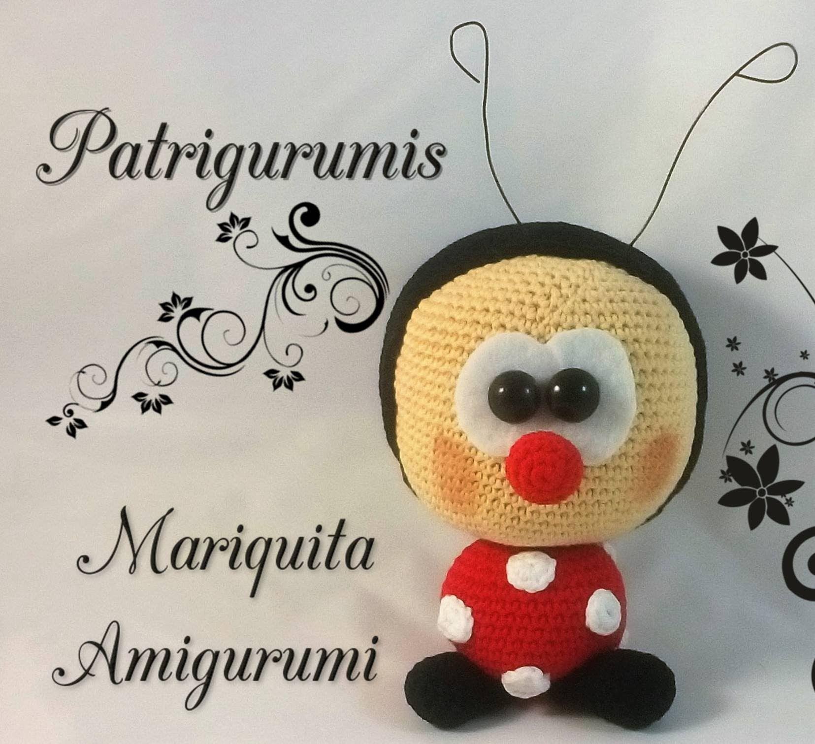 DIY Mariquita amigurumi en ganchillo - Crochet … | Pinteres…