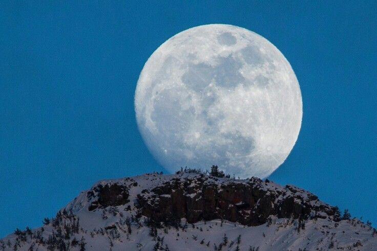 Full moon 3-5-15   lamar valley