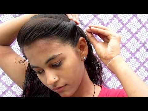 Easy Hair Style For Long Hair Puff Hair Style Ladies Hair Style Videos 2017 Youtube Hair Puff Fishtail Hairstyles Girls Hairstyles Easy