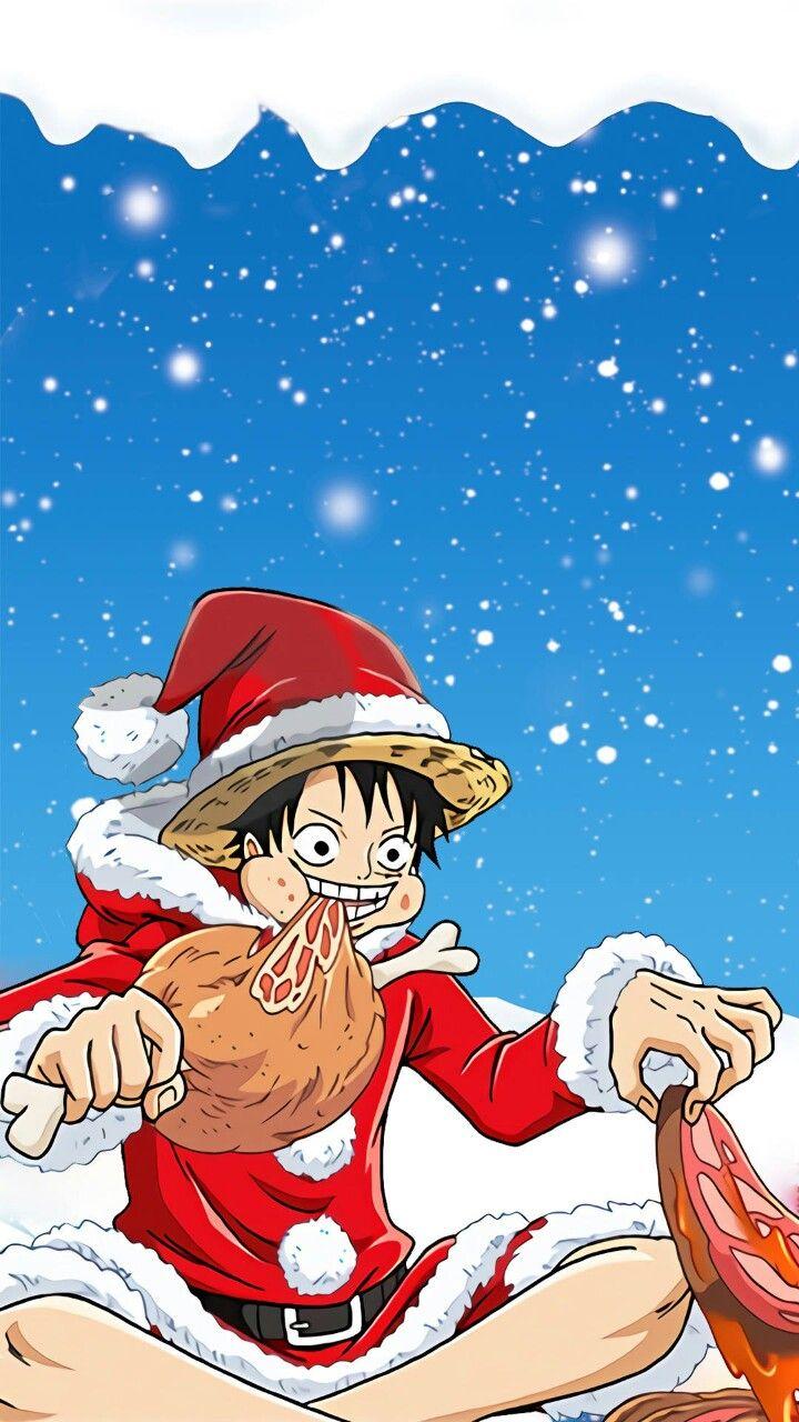 Pin By Mai Spongea On Luffy One Piece One Piece Anime Anime Christmas Anime