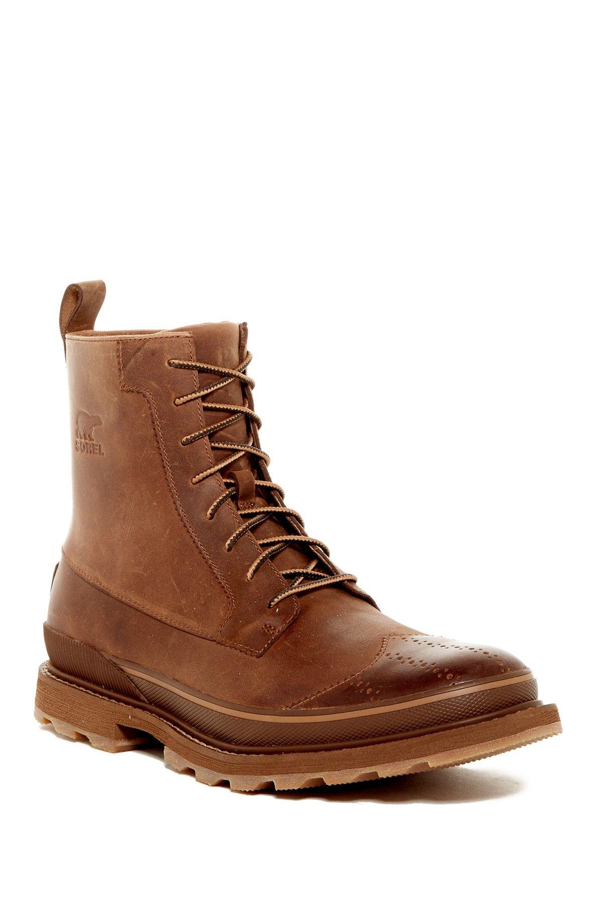 Sorel Mens Madson Wingtip Boot