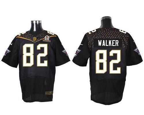 2338f8d9e ... real nike titans 82 delanie walker black 2016 pro bowl mens stitched nfl  elite jersey and