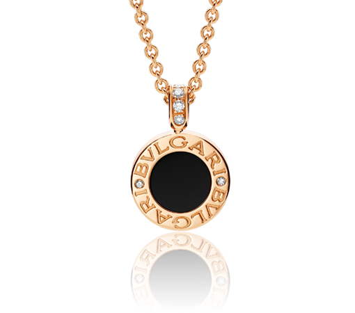 7cc65f8d9dd83 Bvlgari-Bvlgari 18kt Pink Gold Necklace | Jewelry | Bvlgari necklace ...