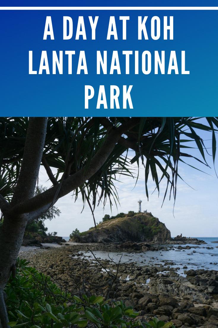 Exploring Koh Lanta National Park on the Thai island of