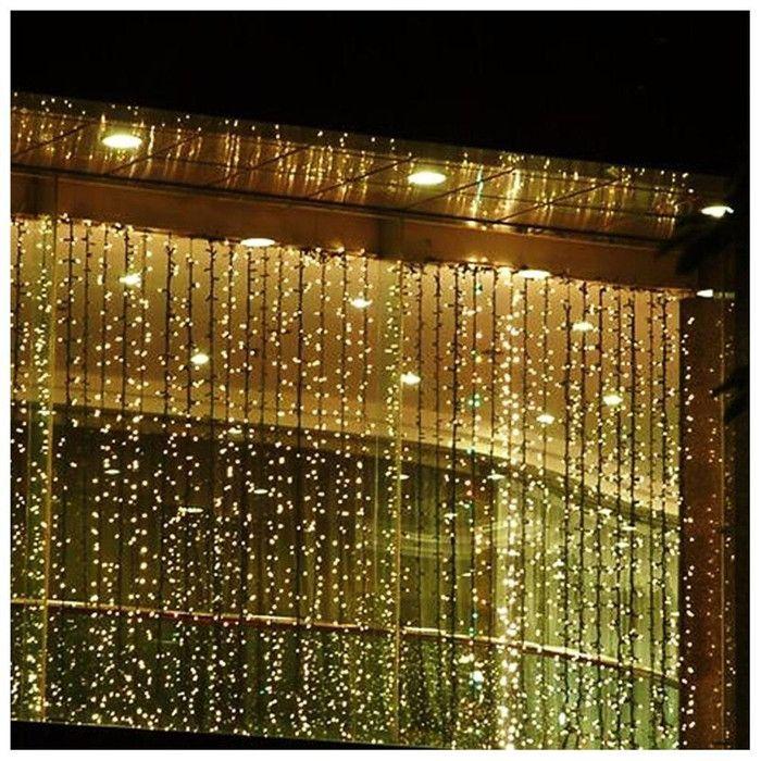 LED Concepts 300 Bulb LED Curtain Light  Reviews Wayfair