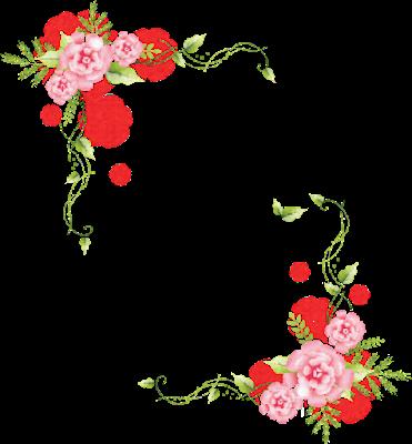 Vintage Victorian Bordes Vintage Rosas Vintage Marcos Con Flores Flores Vintage Png
