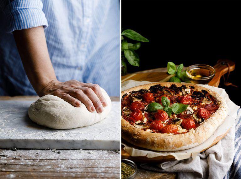 Cómo Hacer Masa De Pizza Casera Y Fácil Paso A Paso Receta Masa De Pizza Casera Masa Para Pizza Pizza Casera