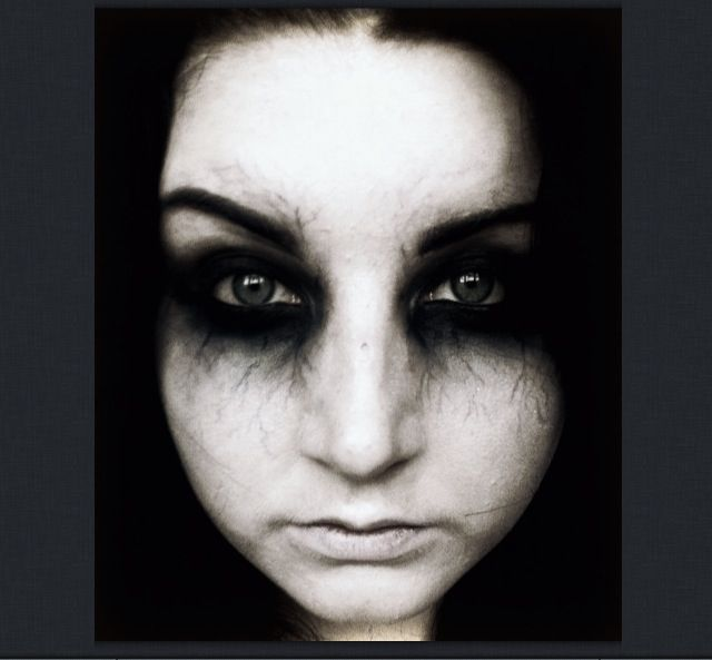 scary eyes halloween make up - Scary Halloween Eye Makeup