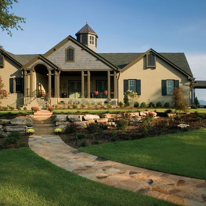 Consideration for exterior changes add double middle - What is a ranch house ...