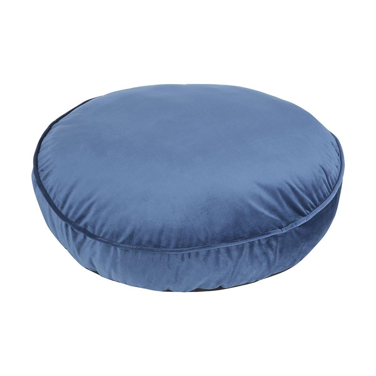 Remarkable Velvet Look Round Pet Bed Kmart Bean Bag Chair Home Ibusinesslaw Wood Chair Design Ideas Ibusinesslaworg