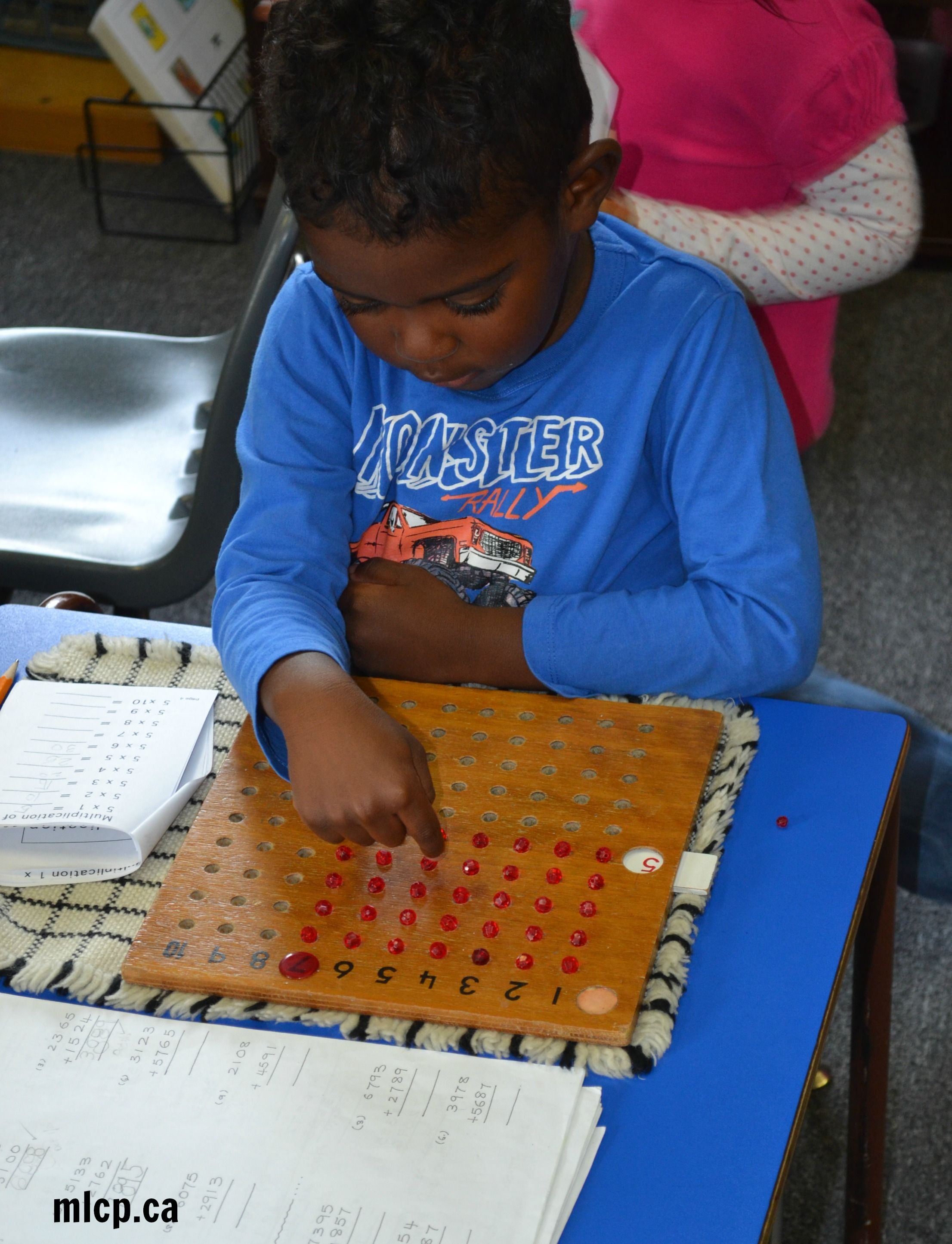 Multiplication Board The Multiplication Bead Board Is Used