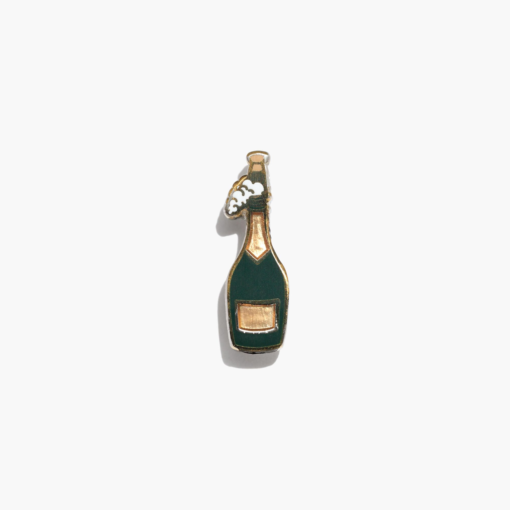 Pintrill Emoji Pin champagne // | extra, extra! | Clothes