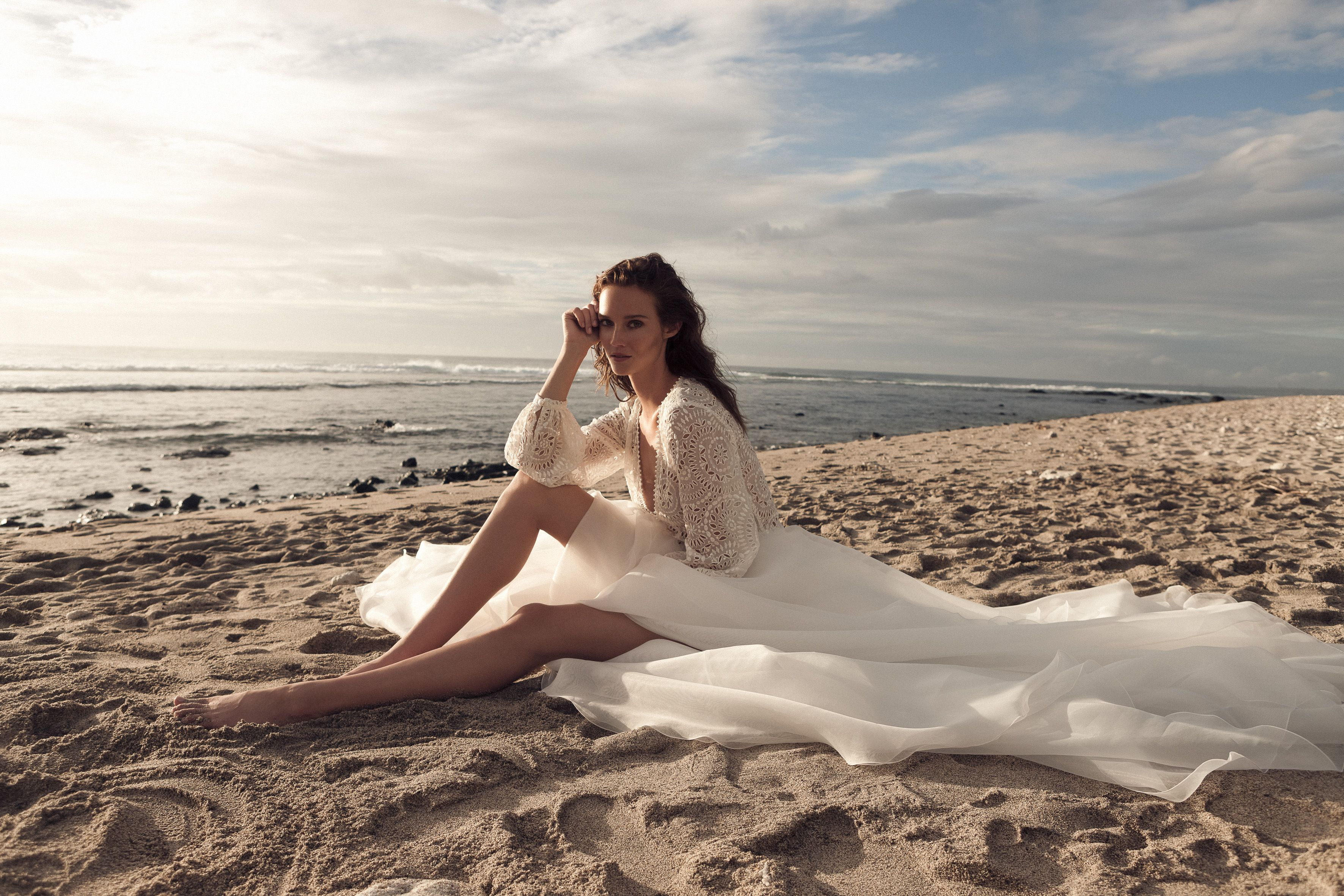 Photo of Daalarna's new Sunset Collection available at Spina Bride, NYC.
