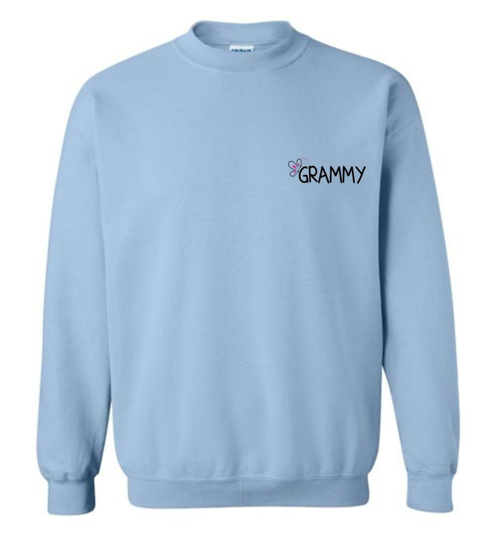 Being A Grammy Makes My Life Complete Crewneck Sweatshirt In 2021 Sweatshirts Crew Neck Sweatshirt Bride Sweatshirt [ 1080 x 1000 Pixel ]