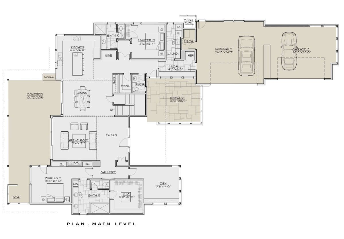 House Plan 5829 00032 Contemporary Plan 4 021 Square Feet 4 Bedrooms 4 5 Bathrooms In 2020 House Plans Square Feet Building A House