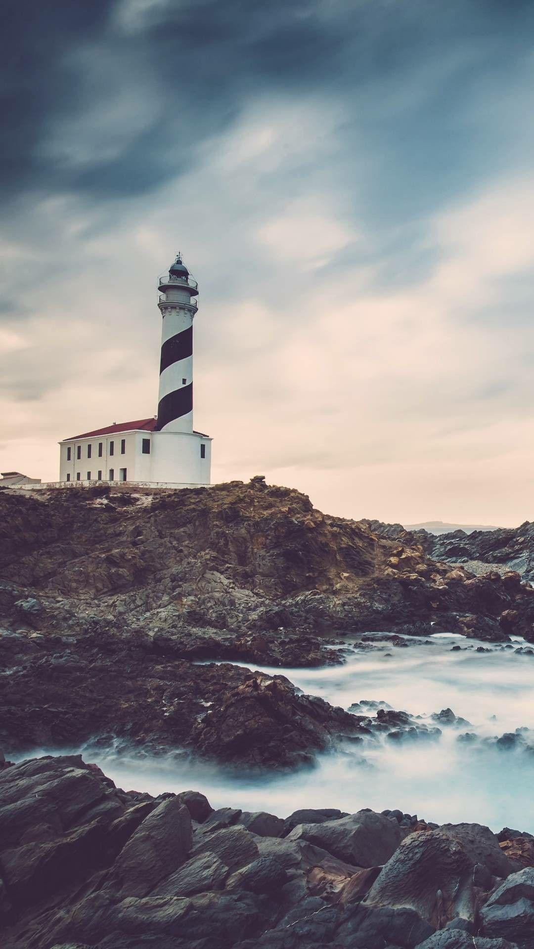 Lighthouse In 2019 Apple Wallpaper Lighthouse Technology