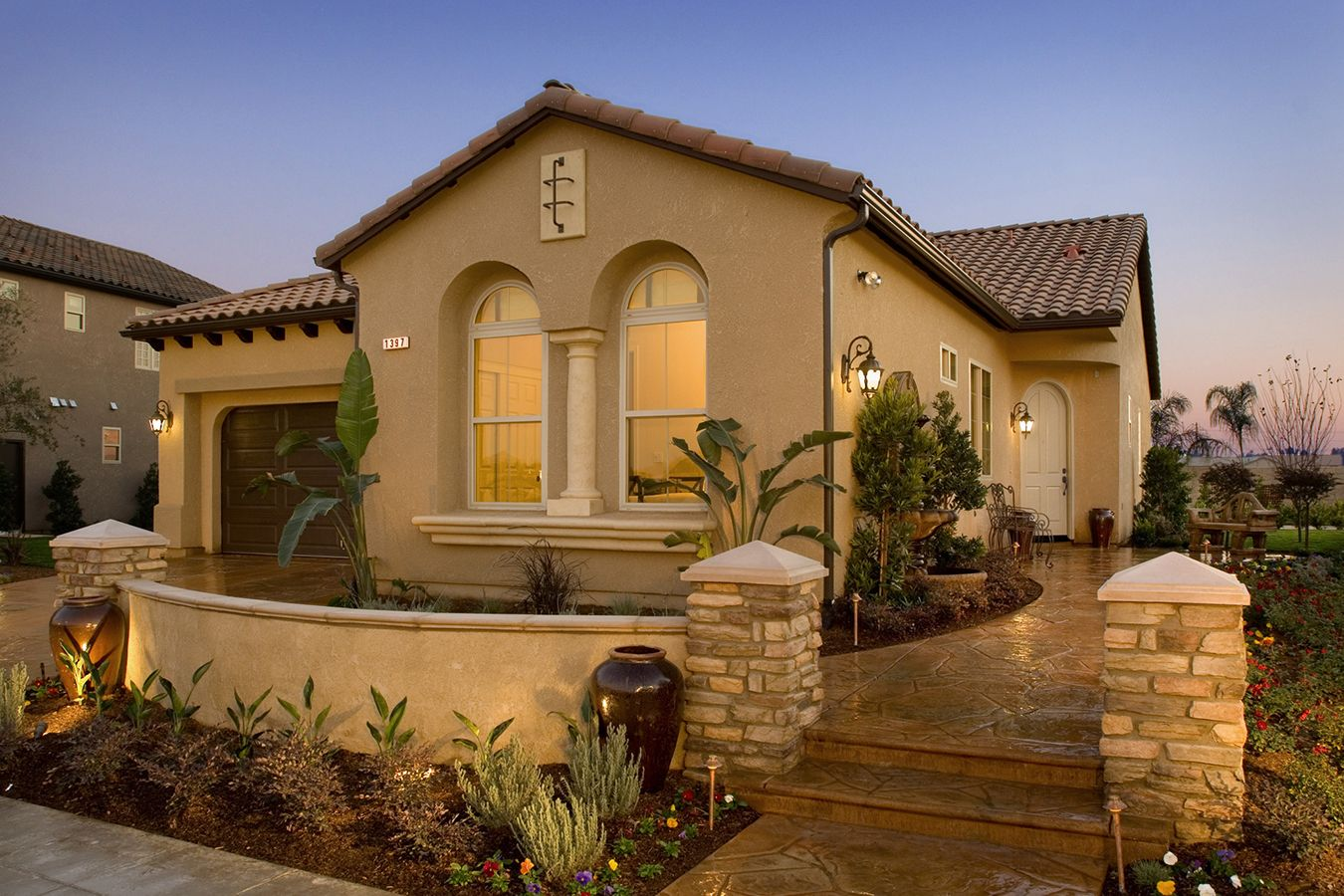 Tuscan Style House In 2019 Tuscany Homes
