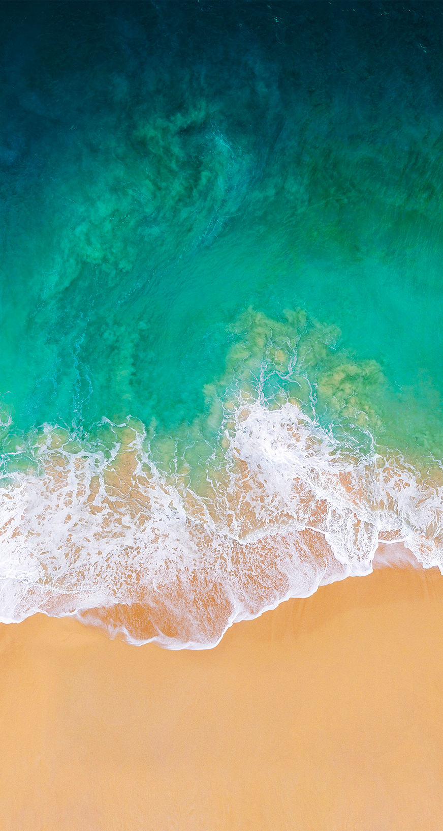 Sand And Surf Nature Photo Ocean Waves Ios 11 Wallpaper Iphone Wallpaper Ios Iphone Wallpaper Ios 11