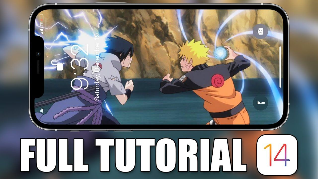Naruto Live Wallpapers iPhone Tutorial ...