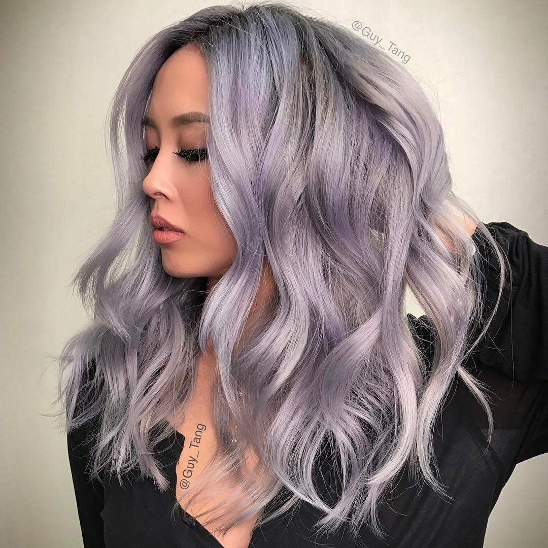 Granny Silver Grey Hair Color Ideas Charcoal