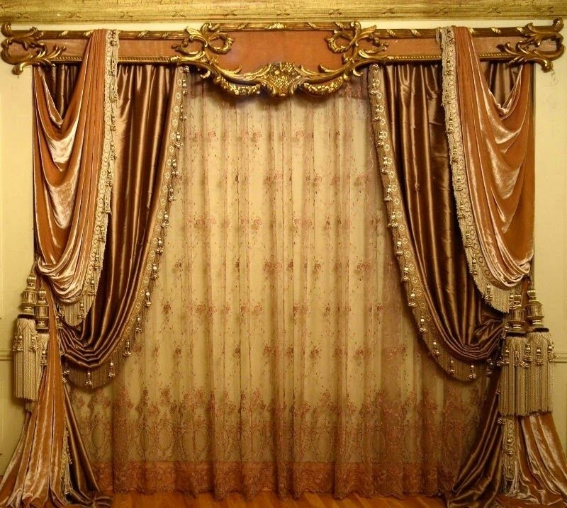 Top Ideas For Classic Curtains Style In Interior Classic - Classic ball fringe curtains