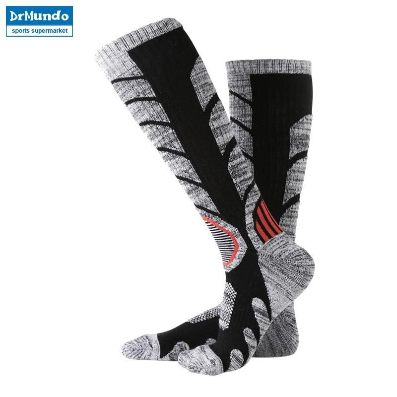 Mens Soft Thermal Padded Long Winter Ski Socks Hiking Snowboarding Walking