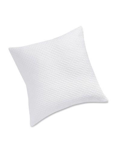 Glucksteinhome Romantique Honeycomb Cushion Women's White