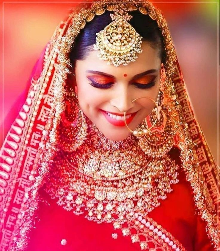 Pin by TERA SATH on BRIDAL QUEEN in 2020   Indian bridal ...