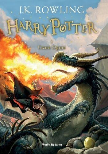 Okladka Ksiazki Harry Potter I Czara Ognia Rowling Harry Potter Harry Potter Goblet New Harry Potter Book