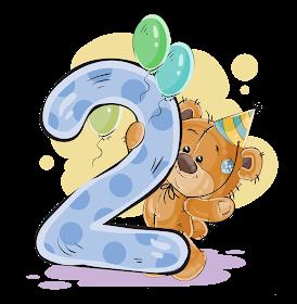 Numeros Con Osito Cumpleanero Numbers With Birthday Bear Tarjetas De Cumpleanos Para Ninos Pegatinas De Meses De Bebes Elefante De Dibujos Animados