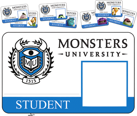 Monsters University Free Printable Activity Sheets  Activities