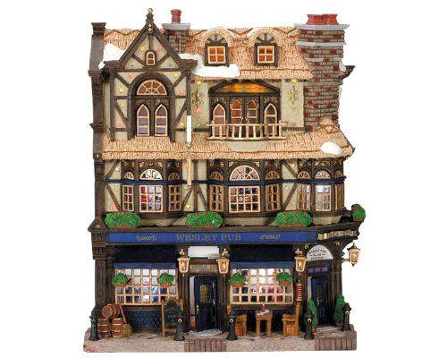 The Teapot Shoppe 75198 Weihnachtsdorf Lemax Facades