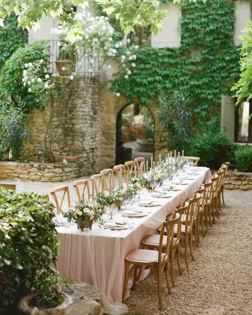an elegant garden wedding in southern france garden wedding pinterest ideen f r die. Black Bedroom Furniture Sets. Home Design Ideas