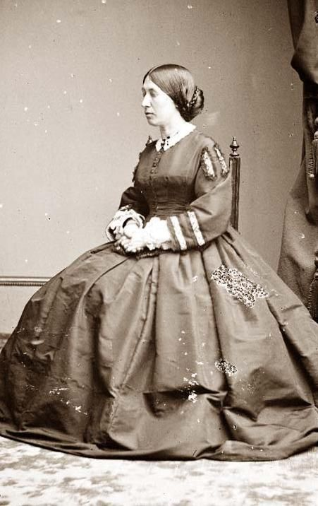 Wife of Abraham /& Future First Lady Mary Todd Lincoln ca New 5x7 Photo 1946