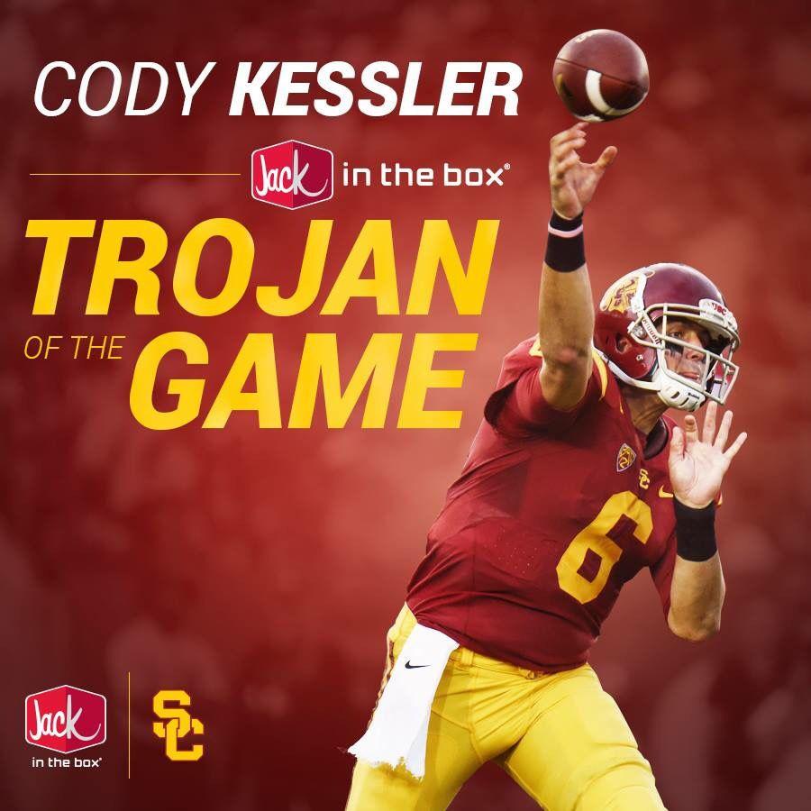 Good job Cody!!! Usc trojans football, Usc trojans, Usc