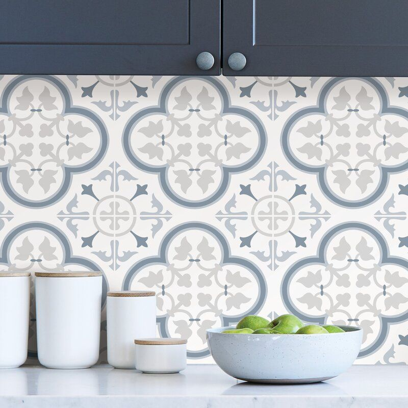 Libson 9 L X 18 W Peel And Stick Wallpaper Panel In 2021 Peel N Stick Backsplash Wallpaper Backsplash Kitchen Vinyl Wall Panels