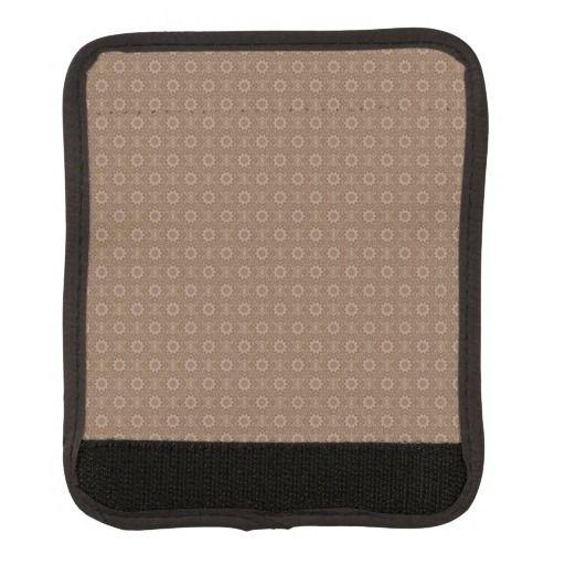 Brown Luggabe Handel Wrap Luggage Handle Wrap