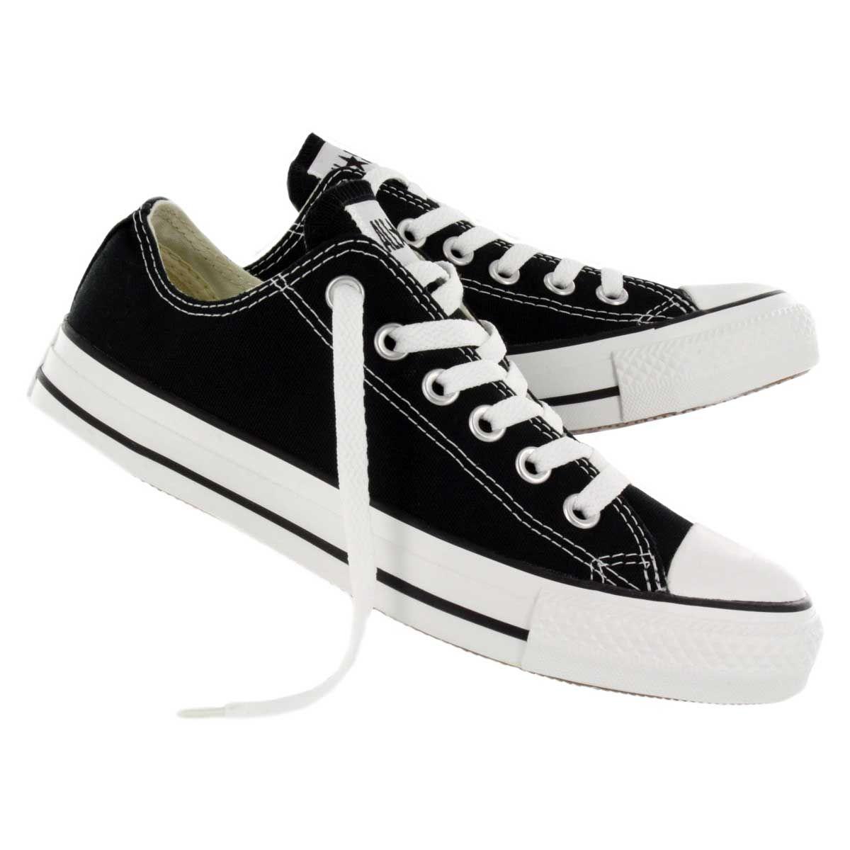 Converse Women's CHUCK TAYLOR CORE OX black sneakers M9166