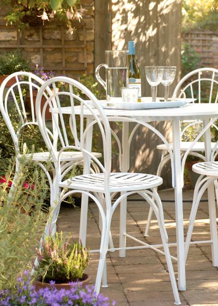 Repeindre un salon de jardin en métal | Peinture DIY | Pinterest ...