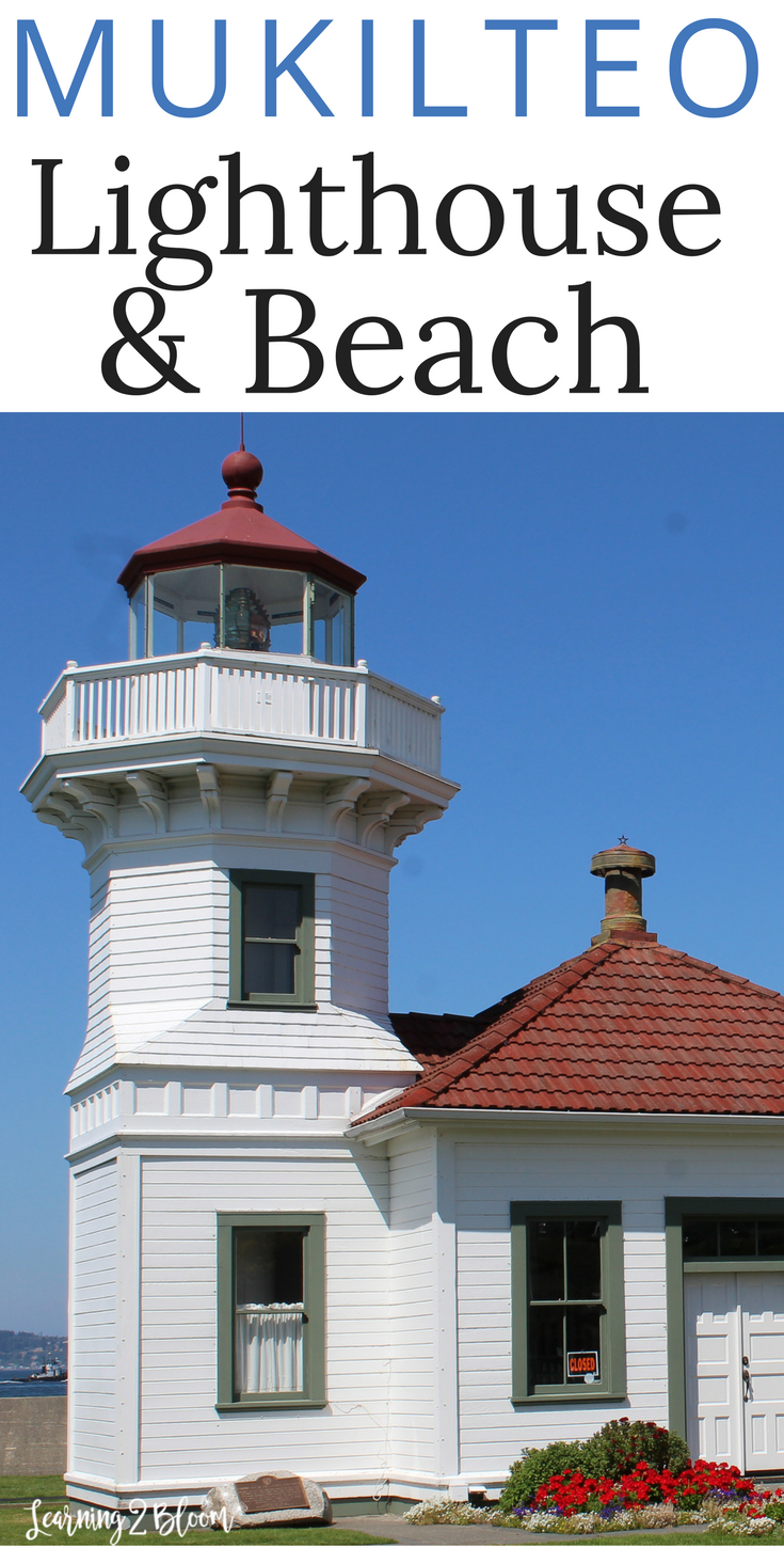 If you love lighthouses or beaches, you'll love Mukilteo Lighthouse and beach in Washington State. The beach was so relaxing and we loved watching the ferries haul people and cars out to the islands. If you go when the lighthouse is open, you can actually walk through and take a tour of the inside of the lighthouse. Such a fun family vacation or road trip. The kids loved it!