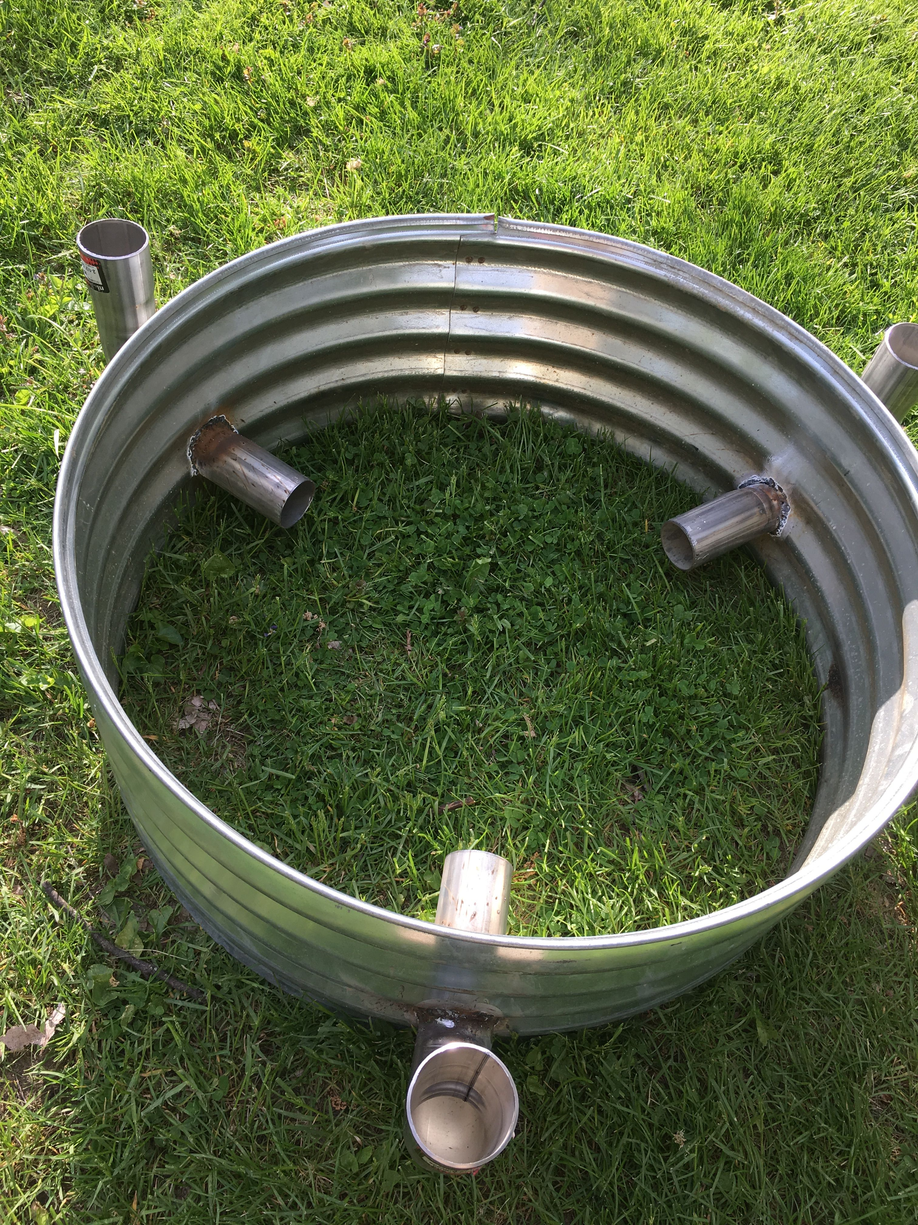 """30"""" Fire Pit Ring $38 Ace Hardware • (3) 2 1/2"""" automotive ... on Ace Hardware Fire Pit id=66806"""