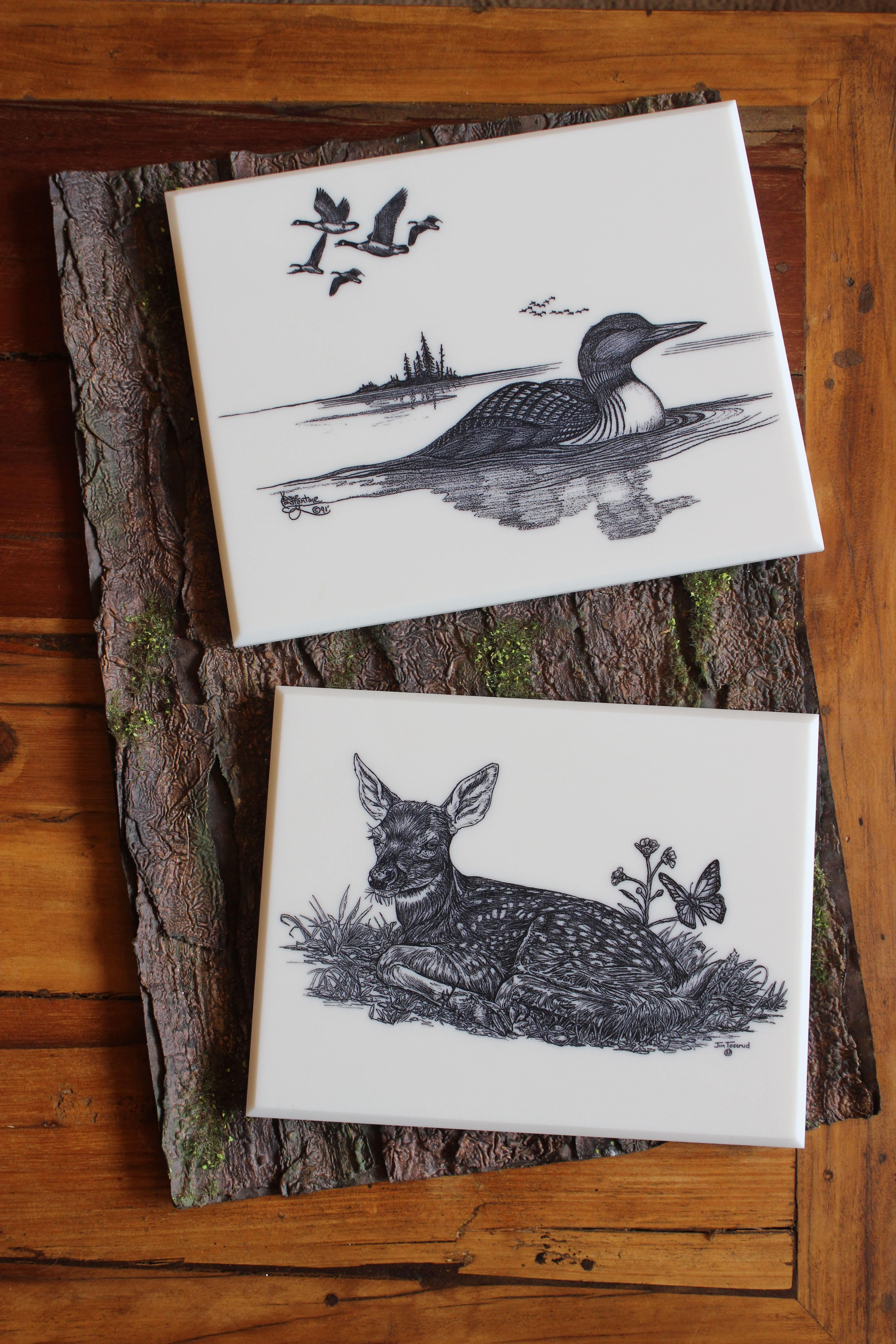 These Locally Engraved Wildlife Trivets Make Wonderful