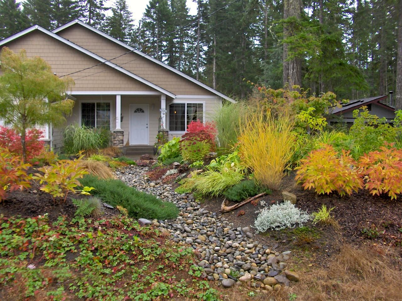 Awesome Fall Landscaping Ideas Front Yard Part - 6: Amazing Color For The Fall Landscape | Landscaping Ideas And Hardscape  Design | HGTV. No Grass LandscapingFront Yard ...