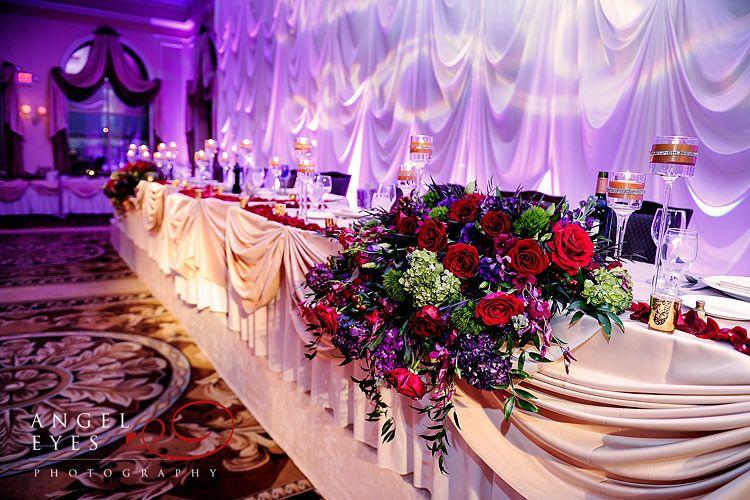 David Tutera Reception Halls Decor | Venuti\'s Ristorante & Banquet ...