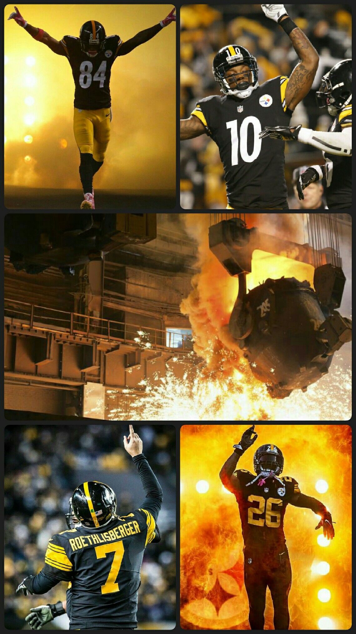 Pittsburgh Steelers iPhone/Android wallpaper Wallpaper